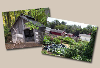 Sugarshack and Garden